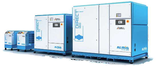 Compressed air stations for all operating conditions