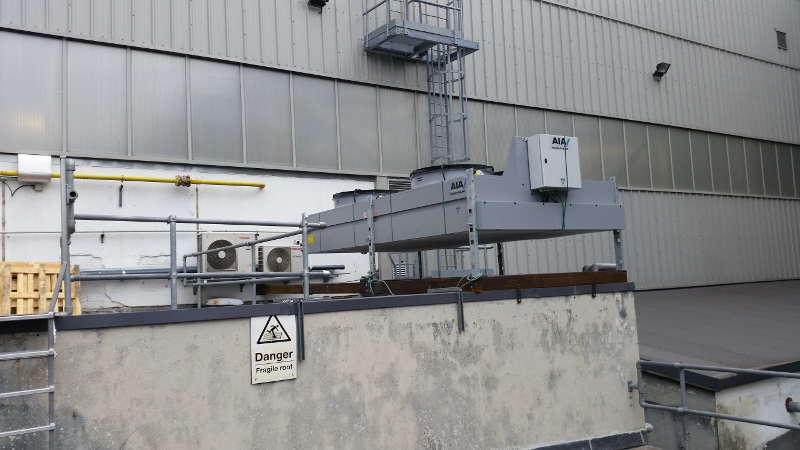 Cooling Tower Fitted at Dublin Airport